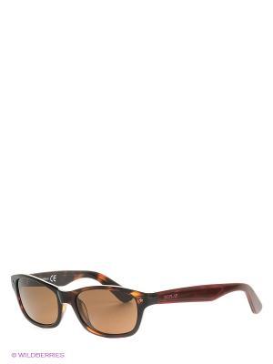 Солнцезащитные очки RE 360S 53E Replay. Цвет: коричневый