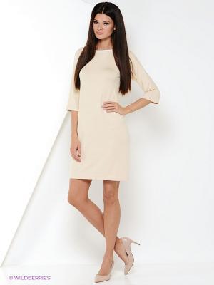 Платье ZARINA. Цвет: кремовый