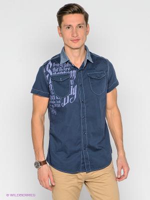 Рубашка Scorpion Bay. Цвет: темно-синий
