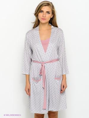 Комплект HAYS. Цвет: серый, бледно-розовый