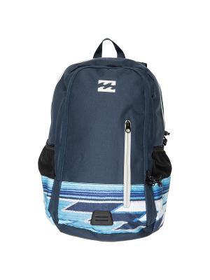 Рюкзак COMMAND LITE PACK BILLABONG. Цвет: темно-синий, белый, голубой