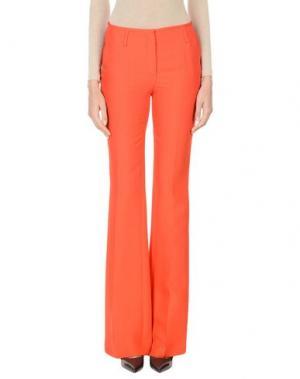 Повседневные брюки VIONNET. Цвет: красный
