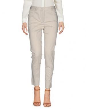 Повседневные брюки ANTONELLI. Цвет: бежевый