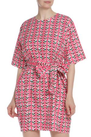 Платье Marcobologna. Цвет: цветной