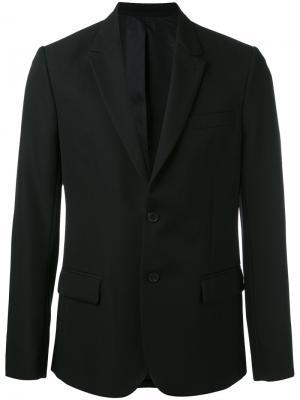 Lined 2 Button Jacket Ami Alexandre Mattiussi. Цвет: чёрный
