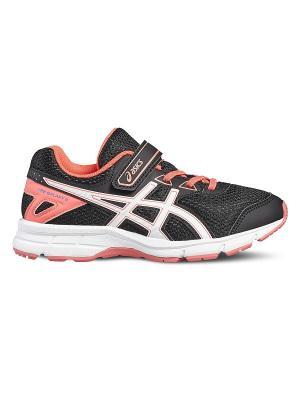 Спортивная обувь PRE GALAXY 9 PS ASICS. Цвет: черный, белый, розовый