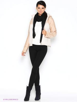 Куртка D`imma. Цвет: кремовый