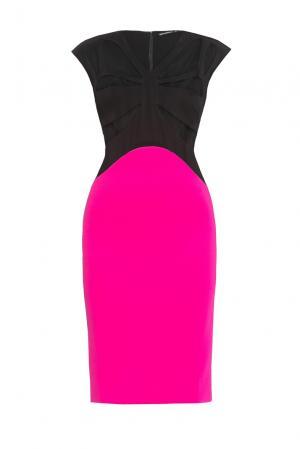 Платье из хлопка 167878 Paola Morena. Цвет: разноцветный