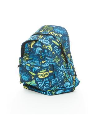 Рюкзак DOUBLE DOME LETTRING Rip Curl. Цвет: голубой, синий