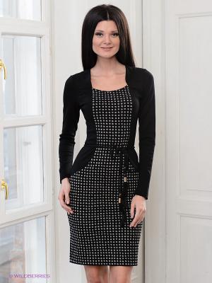Платье Vaide. Цвет: черный, серый