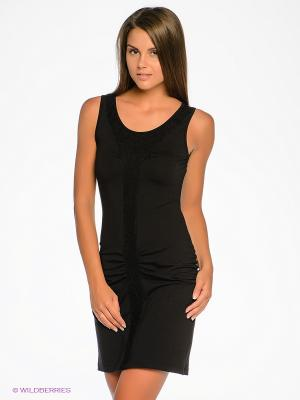Платье Sport Vision. Цвет: черный
