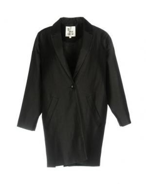 Пальто 5PREVIEW. Цвет: черный