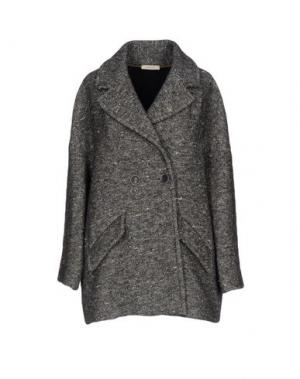 Легкое пальто ZHELDA. Цвет: серый
