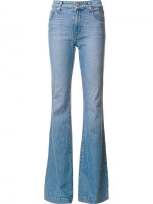 Расклешенные джинсы Derek Lam 10 Crosby. Цвет: синий