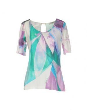Блузка ANGELO MARANI. Цвет: светло-фиолетовый