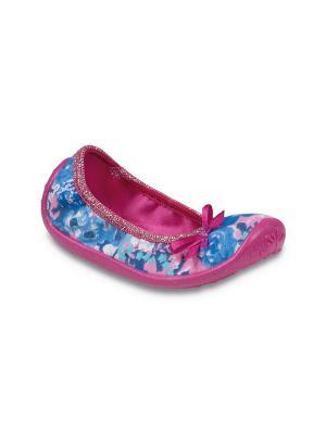 Балетки Befado. Цвет: розовый, голубой