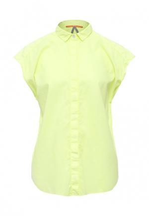 Блуза Boss Orange. Цвет: желтый