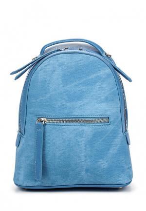 Рюкзак Dispacci. Цвет: голубой