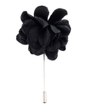 Запонки и зажимы для галстука LANVIN. Цвет: черный