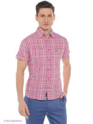 Рубашка Mavango. Цвет: розовый