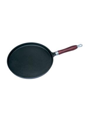 Сковорода блинная Regent inox. Цвет: черный, коричневый