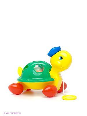 Черепаха-каталка Simba. Цвет: зеленый, красный, желтый