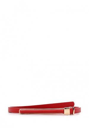 Ремень Zarina. Цвет: красный