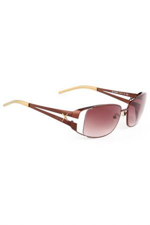 Очки солнцезащитные Exte. Цвет: коричневый