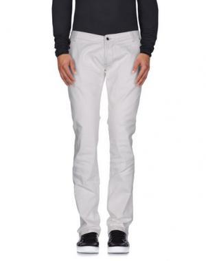 Джинсовые брюки CALVARESI. Цвет: белый
