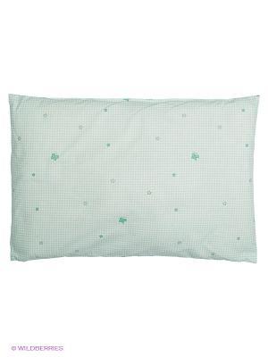 Подушка Сонный гномик. Цвет: зеленый