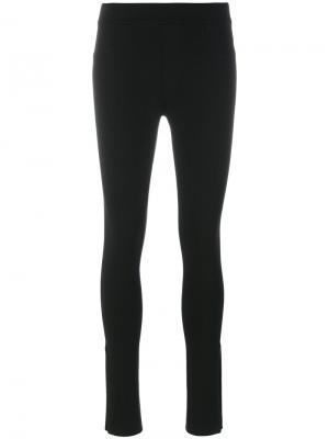 Леггинсы в стиле брюк Helmut Lang. Цвет: чёрный