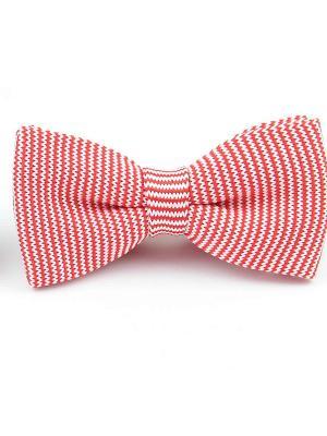 Галстук-бабочка Churchill accessories. Цвет: красный, розовый, белый