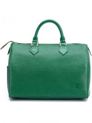 Сумка-тоут Speedy 30 Louis Vuitton Vintage. Цвет: зелёный