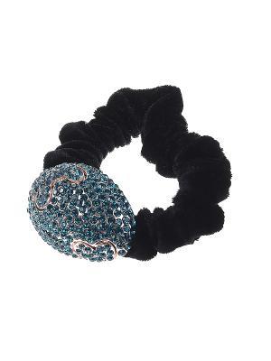 Резинка для волос Infiniti. Цвет: бирюзовый