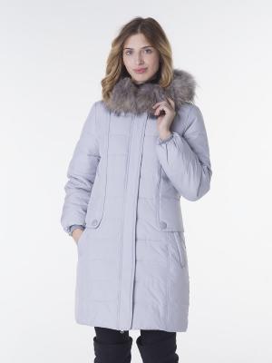 Куртка EPATAGE. Цвет: серый