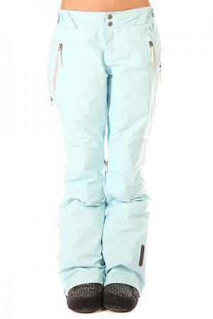 Штаны сноубордические женские  Moving Pants Blue Crystal Oakley. Цвет: голубой