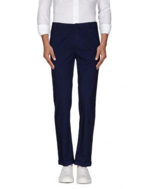 Повседневные брюки QUARANTASEI. Цвет: темно-синий