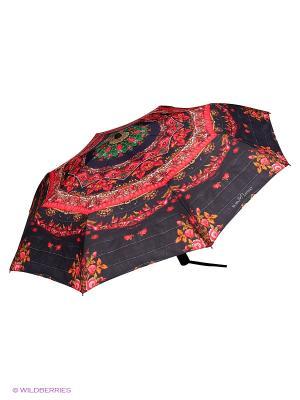 Зонт Slava Zaitsev. Цвет: черный