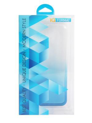 Крышка задняя для xiaomi redmi note 4 силикон IQ Format. Цвет: синий