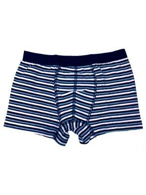 Трусы боксеры для мальчиков Oztas kids' underwear. Цвет: черный, синий, белый