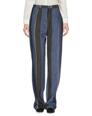 Повседневные брюки JIJIL. Цвет: грифельно-синий