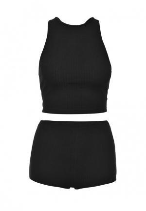 Пижама Topshop. Цвет: черный