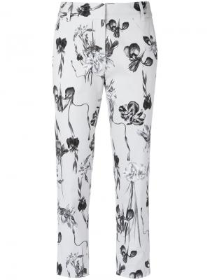 Floral cropped trousers Andrea Marques. Цвет: none