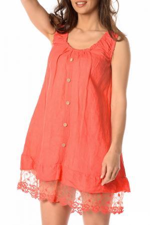 Платье LA BELLE PARISIENNE. Цвет: красный