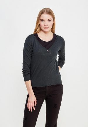 Пуловер Sacks Sack's. Цвет: зеленый
