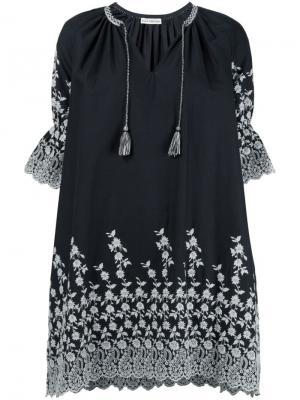 Платье Roza Ulla Johnson. Цвет: чёрный