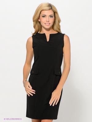 Платье DRS Deerose. Цвет: черный