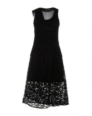 Платье до колена THAKOON. Цвет: черный
