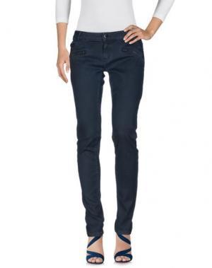 Джинсовые брюки MAJE. Цвет: темно-синий