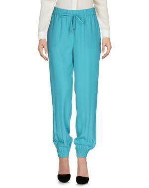 Повседневные брюки ATOS LOMBARDINI. Цвет: бирюзовый